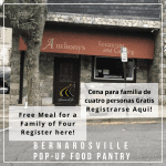 Free meal for a family of f