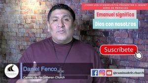 Mensaje: Emanuel significa Dios con noaotros