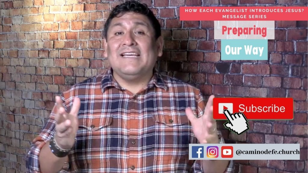 Message: Preparing our Way