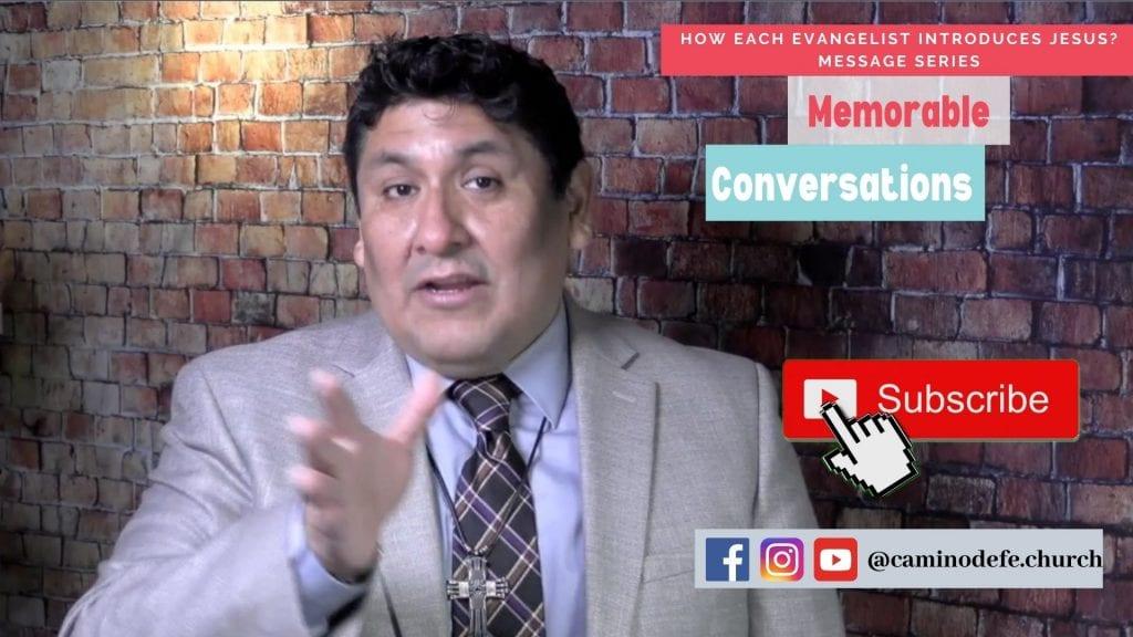 Message: Memorable Conversations