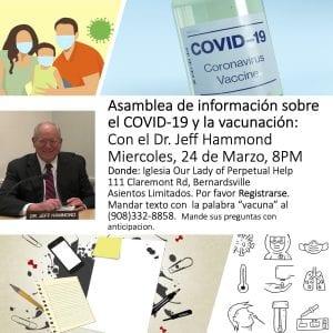 Asamblea de informacion de la vacuna